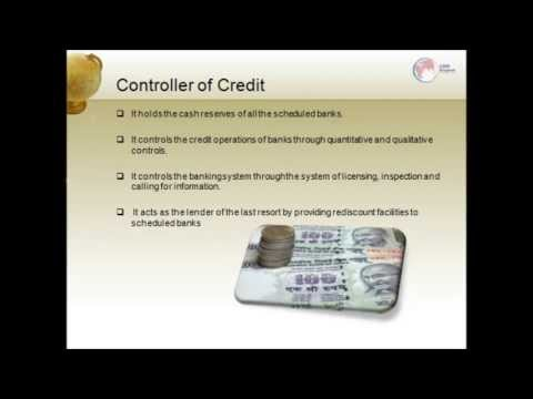 Reserve Bank of India- An Introduction