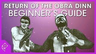 How to enjoy Return of the Obra Dinn | Beginner's Guide