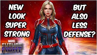 Captain Marvel WRECKS & Gets Wrecked by World Bosses - Marvel Future Fight