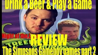 DBPG: Simpsons Gameboy Games Review Part 2