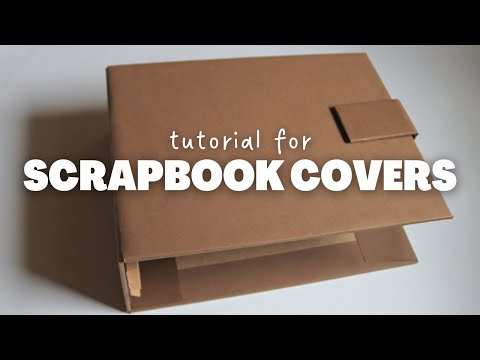 COVER AND SPINE FOR SCRAPBOOK ALBUM | SCRAPBOOK IDEAS