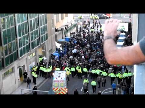 Student Protest Brighton
