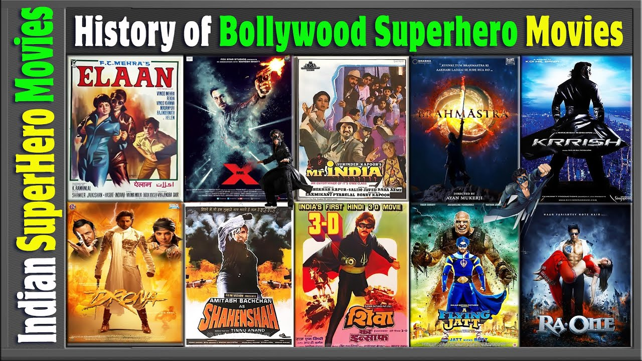 Download History of Bollywood Superhero Movies List | Hit or Flop | बॉलीवुड के  फ्लॉप सुपर हीरो | Box Office