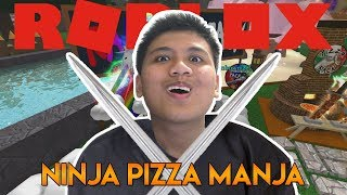 Ninja Pizza Manja | Roblox Indonesia Ninja Assassin