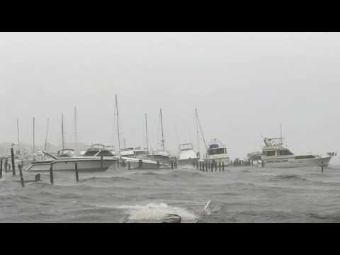 Hurricane Irma From Kennedy Point Park Titusville, Fl