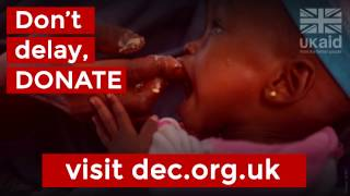 UK aid is supporting the East Africa Crisis DEC Appeal