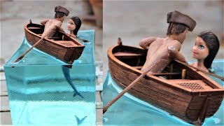 How to Make a Mermaid Diorama