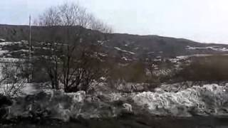 Deslizamiento de tierra en Rusia