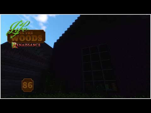 Life In The Woods Renaissance - Modded Minecraft - Haunted House - 86
