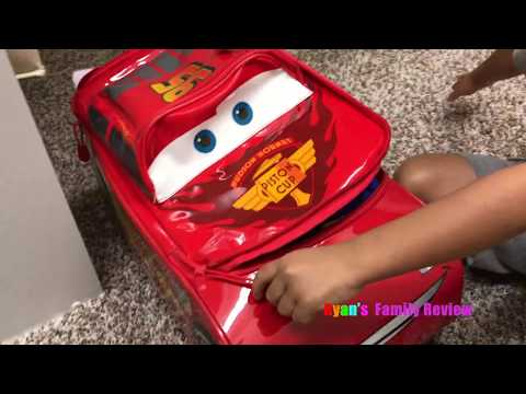 Kid Packing for Disney World Family Fun Vacation Trip with Ryan's Family Review Vlog