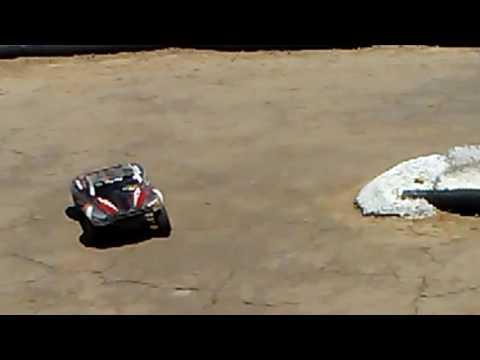 CKRC Raceway.  Reno, Nevada: Rental Traxxas Slashes
