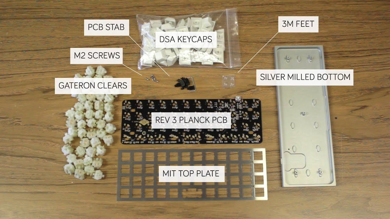 How to Actually Build a Planck (or Preonic or Atomic) from OLKB