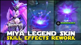 MODENA BUTTERFLY REWORK NEW ENTRANCE AND SKILL EFFECTS GAMEPLAY MOBILE LEGENDS MIYA LEGEND SKIN MLBB
