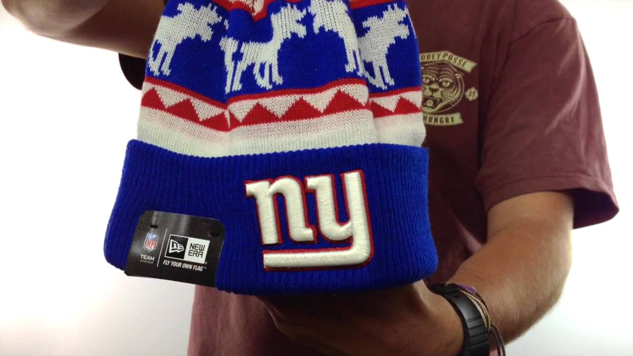 4a78226f NY Giants 'THE-MOOSER' Knit Beanie Hat by New Era