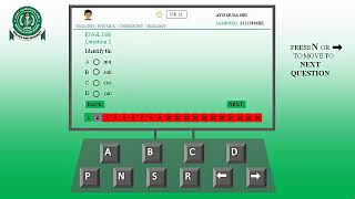 How To Write JAMB CBT Exam Without Mouse