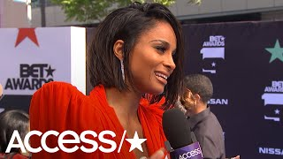 Ciara Shares The Heartwarming Reason Why Being A Mom Is So Important To Her | Access Video