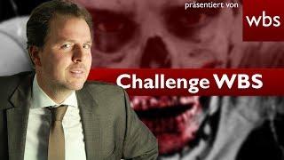 Mein letzter Wille: Esst mich auf! | Challenge WBS - Rechtsanwalt Christian Solmecke