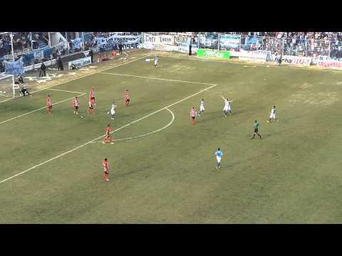 Gol de Atlético: 2 a 0 a San Martín