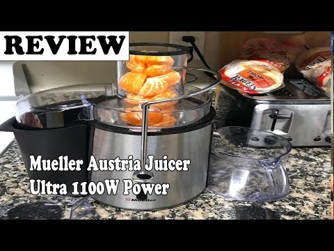 Mueller Austria Juicer Ultra 1100W Power - Review 2019