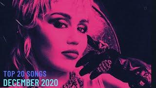 Top 20 Songs: December 2020 (12/12/2020) I Best Billboard Music Chart Hits
