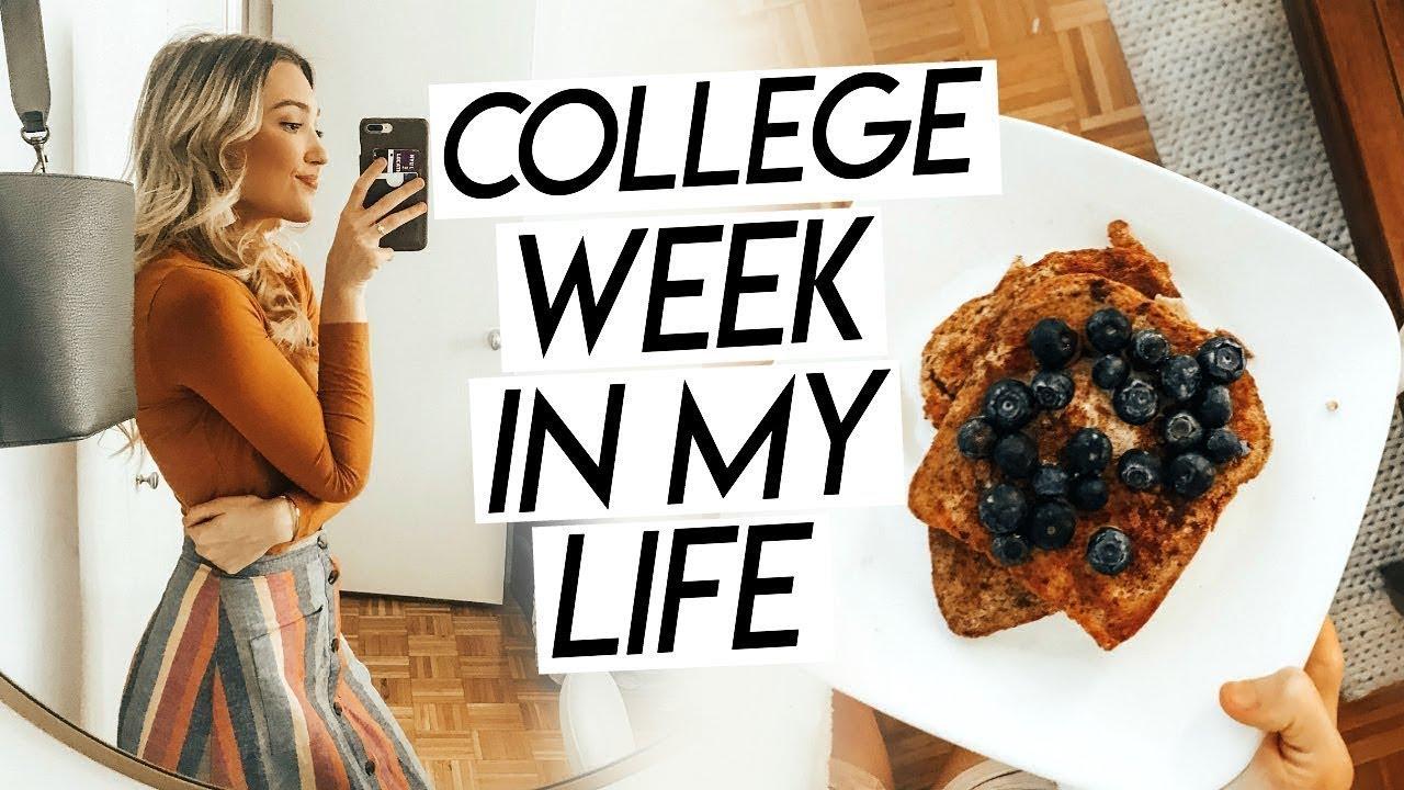 College Week In My Life Nyc Last Week Of Classes Graduation Prep Productive Week