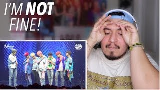 BTS Save Me + I'm Fine Comeback Stage REACTION