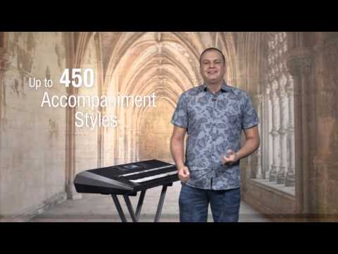 Yamaha PSR-S970 61-key Professional Arranger Keyboard | KeytarHQ