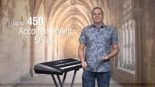 Presentation of PSR-S970/S770, English