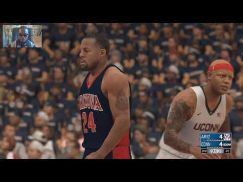 NBA 2K17 - REAL All Time College Rosters - Arizona Vs Uconn