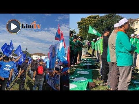Kecoh BN-PKR 'perang mulut', PAS tenang solat hajat