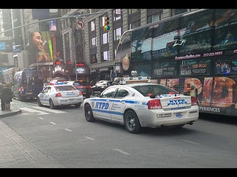 NYPD Escort/Transport in Times Square NYC