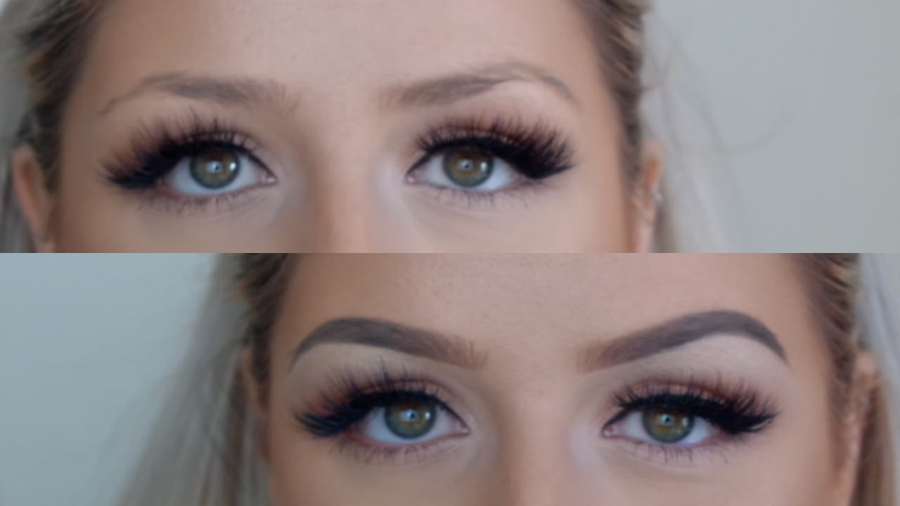 My Brow Routine | Anastasia Beverly Hills Dipbrow in Taupe - YouTube