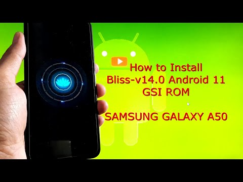 Bliss-v14.0 for Samsung Galaxy A50 Android 11 GSI