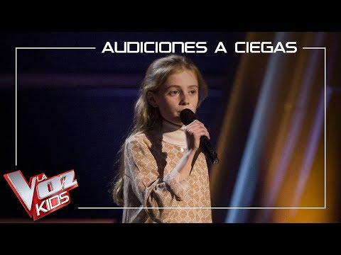 Olivia Fernández Canta 'Everyday'   Audiciones A Ciegas   La Voz Kids Antena 3 2019