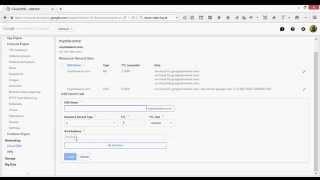 Google Cloud DNS : Add a Domain