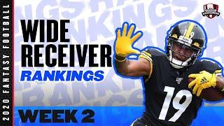 2020 Fantasy Football Rankings - Top 30 Wide Receiver in Fantasy Football - Week 2