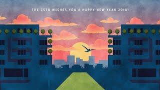 The CSTB wishes you a Happy New Year 2018