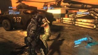 Resident Evil 6 - Mercenaries Solo - High Seas - 1110k - Agent