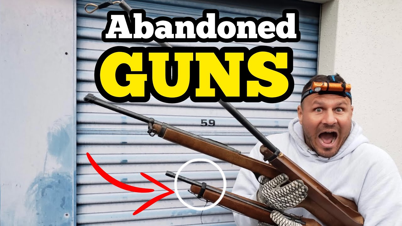 FOUND GUNS I Bought An Abandoned Storage Locker / Opening Mystery Boxes / Storage Wars