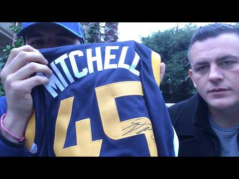 UTAH JAZZ IP AUTOGRAPH RECAP WITH MY BROTHER (DONOVAN MITCHELL, RUBIO, AND MORE)