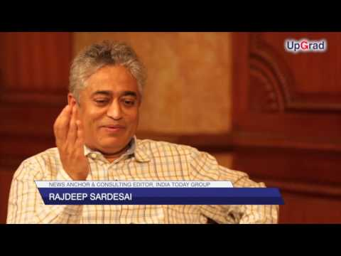 Rajdeep Sardesai, News Anchor & Consulting Editor, India Today Group | Full Interview | UpGrad