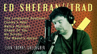 ED SHEERAN // IRISH TRAD // MASHUP (loop station)