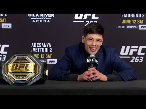 UFC 263: Brandon Moreno Post-fight Press Conference