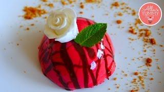 Red Velvet Cheesecake Recipe  Mirror Glaze Recipe