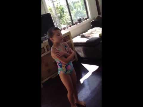 Olivia Sing Let It Go