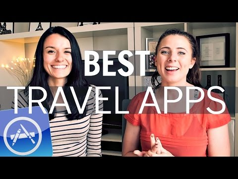 Best FREE TRAVEL APPS to STAY ORGANISED on your trip