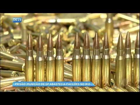 Facções criminosas no Rio de Janeiro recebiam munições trazidas de São Paulo