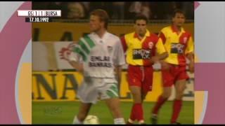 Nostalji Maçlar | 1992-1993 Sezonu Galatasaray 4 - 2 Bursaspor