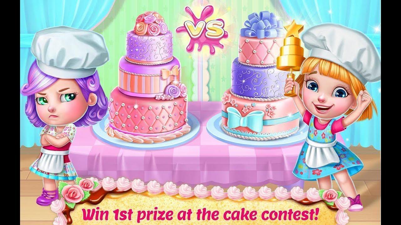 Làm bánh kem công chúa, bánh kem sinh nhật cho bé dễ thương – Game làm bánh kem vui nhộn