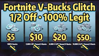 NEW Fortnite V Bucks Glitch 100% Safe | July 2018 | Free Discount Method | XBOX PC Switch Mobile IOS